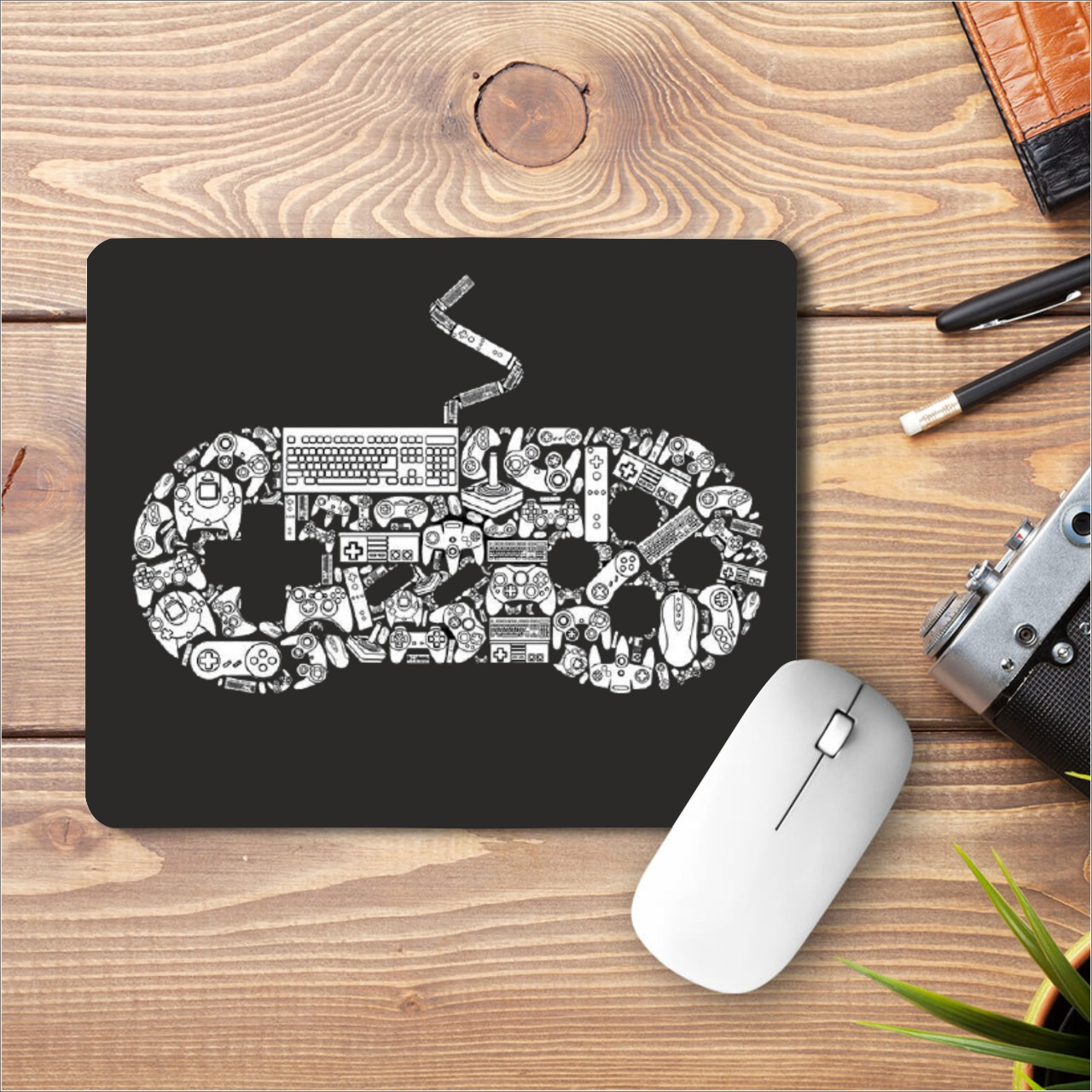 Gamepad Printed Mouse Pad|Gamepad Printed Mouse Pad|standard size 9 by 7 inch