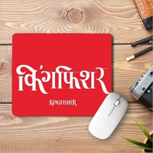 Kingfisher Printed Mouse Pad|standard size 9 by 7 inch|Kingfisher Printed Mouse Pad