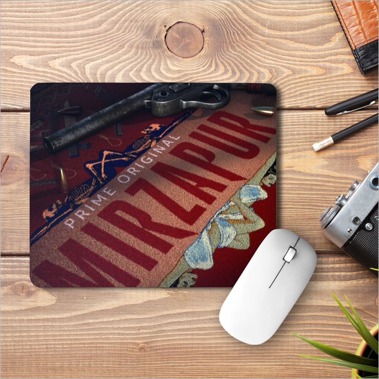 Mirzapur Printed Mouse Pad|standard size 9 by 7 inch|Mirzapur Printed Mouse Pad