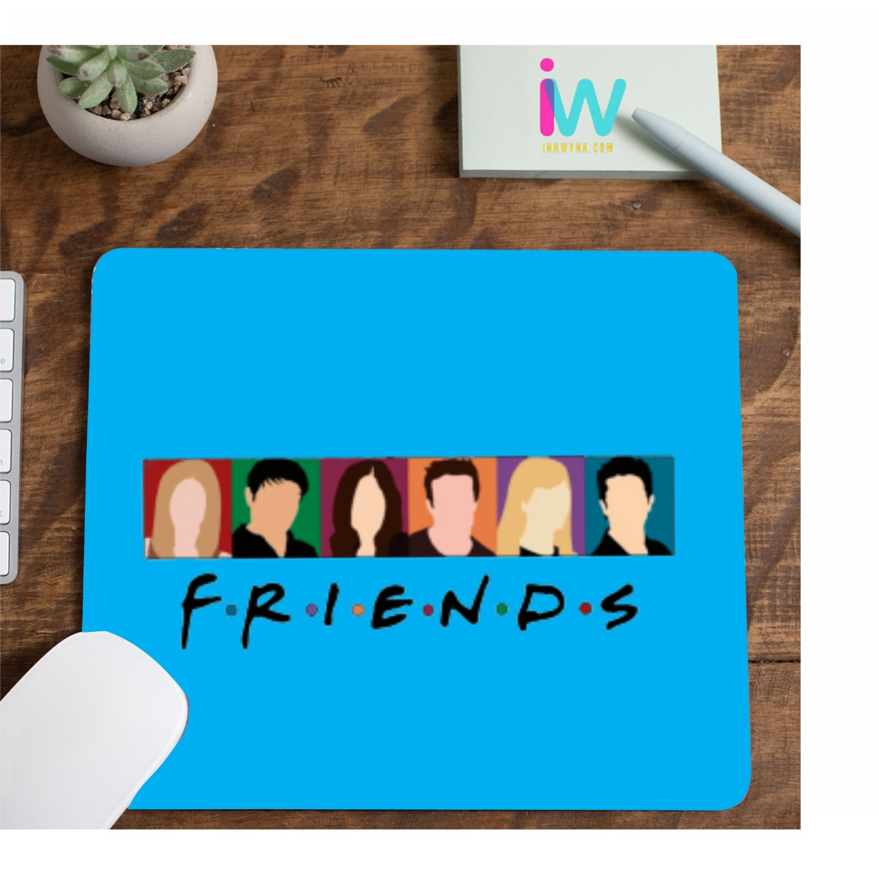Friends Character Printed Mouse Pad